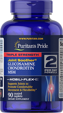 Triple Strength Glucosamine Chondroitin & MSM Joint Soother