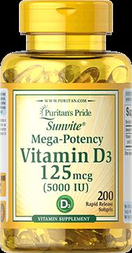 Vitamin D3 125 mcg