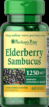 Elderberry Sambucus1250 mg