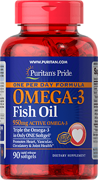 One Per Day Omega-3 Fish Oil 1360 mg