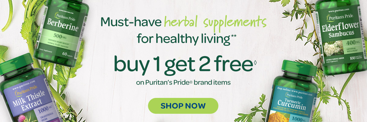 Herbal Supplements - Buy 1 Get 2 Free