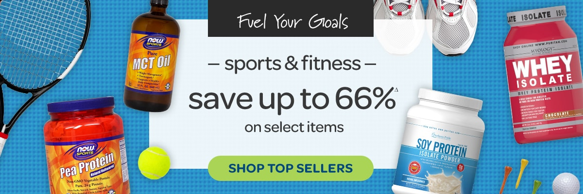 Sports & Fitness, Save up to 66%
