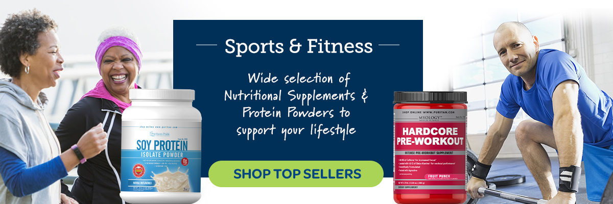 Sports and Fitness, Wide selection of nutritional supplements and protein powders to support your lifestyle.