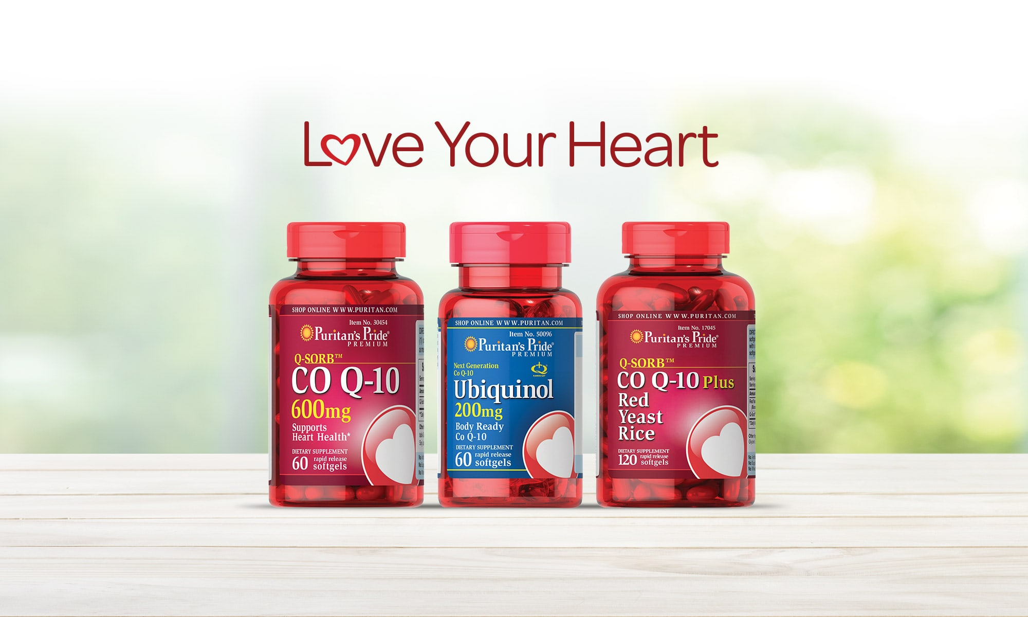 Love Your Heart. Shop All Co-Q10