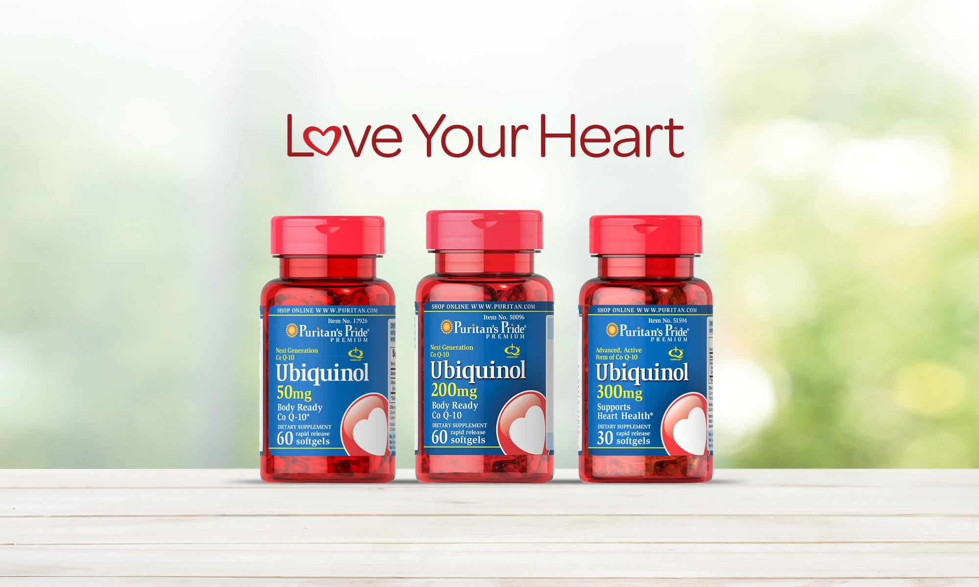 Love Your Heart. Shop All Uiquinol