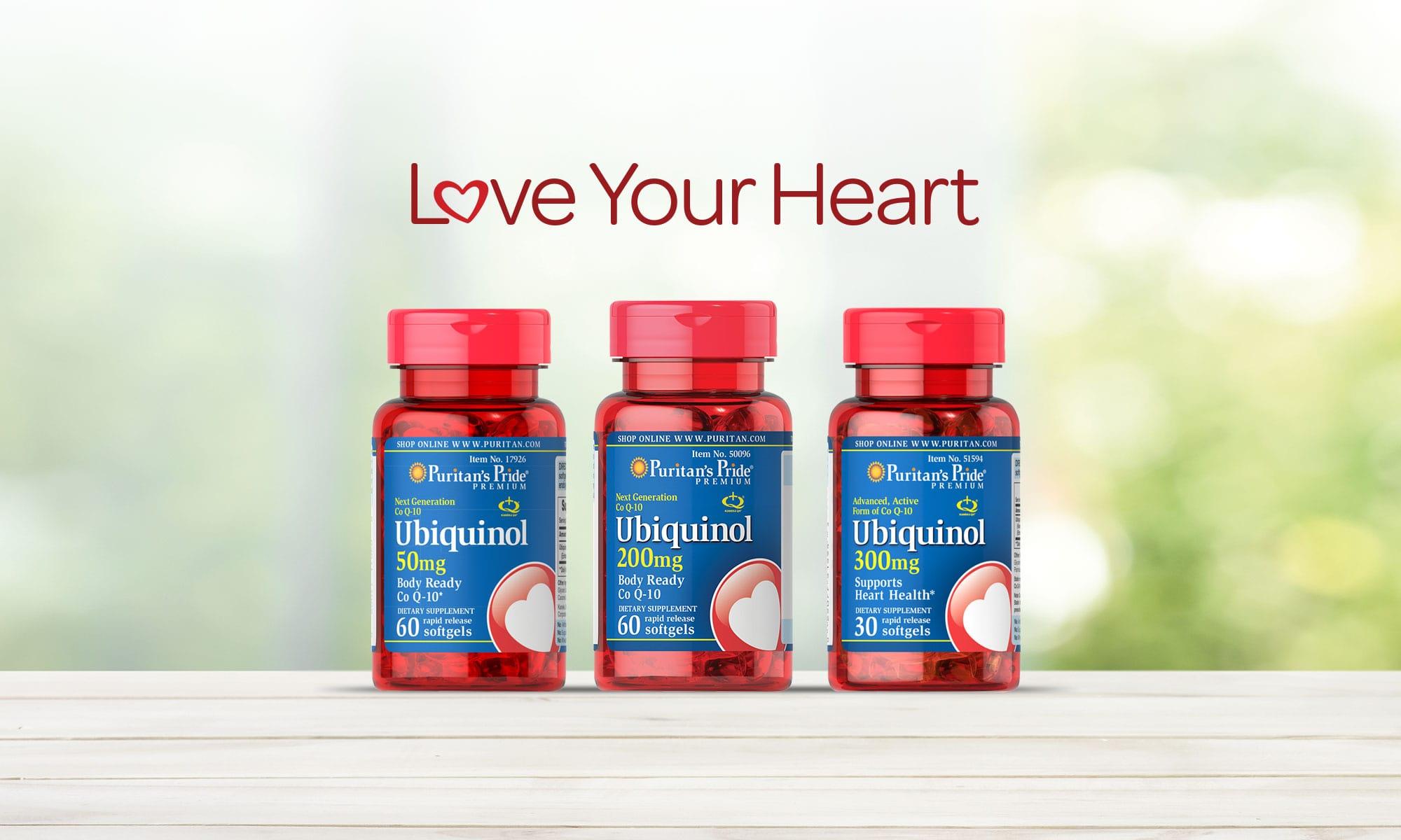 Love Your Heart. Shop All Uiquinol