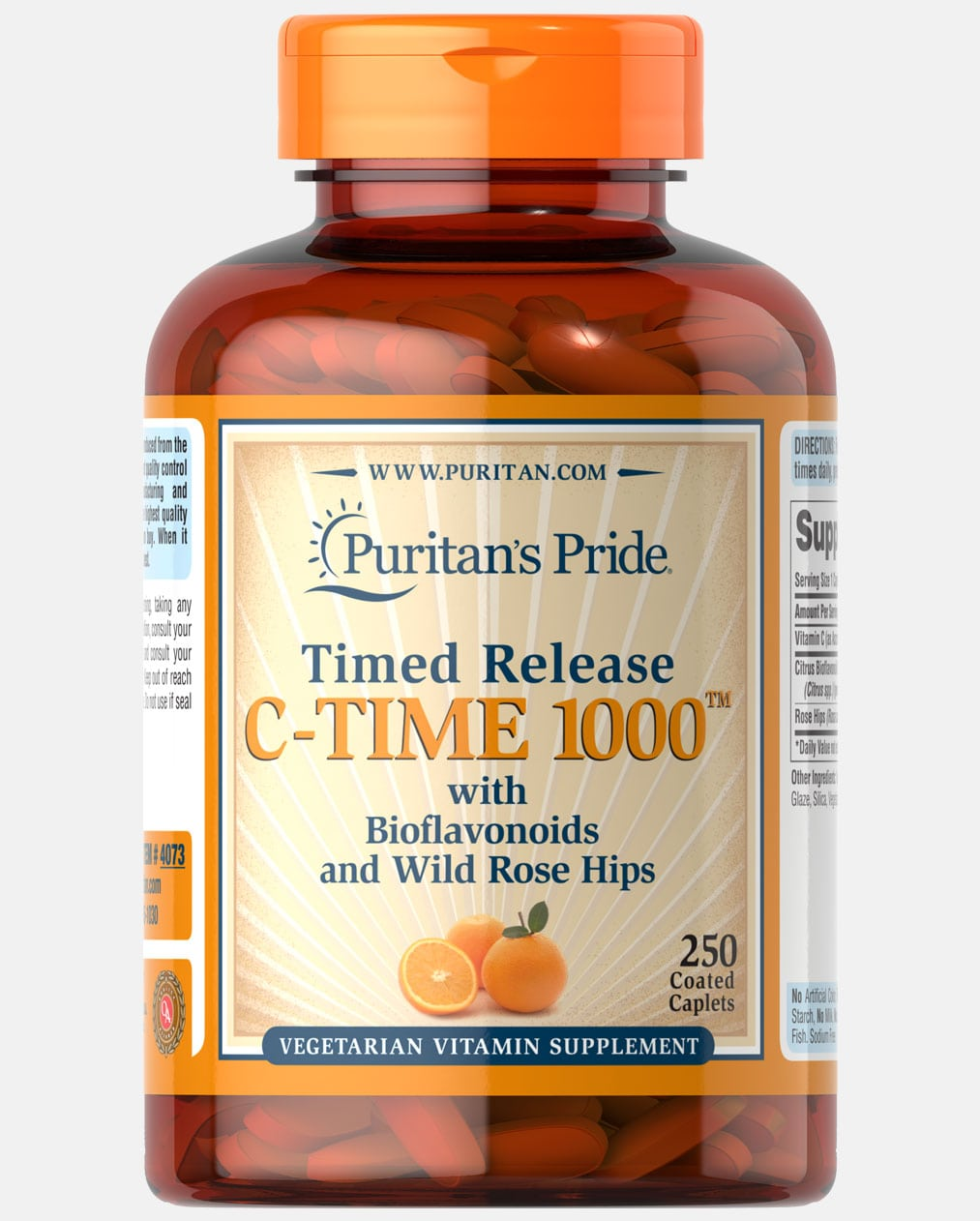 Vitamin C-1000 mg with Rose Hips Timed Release