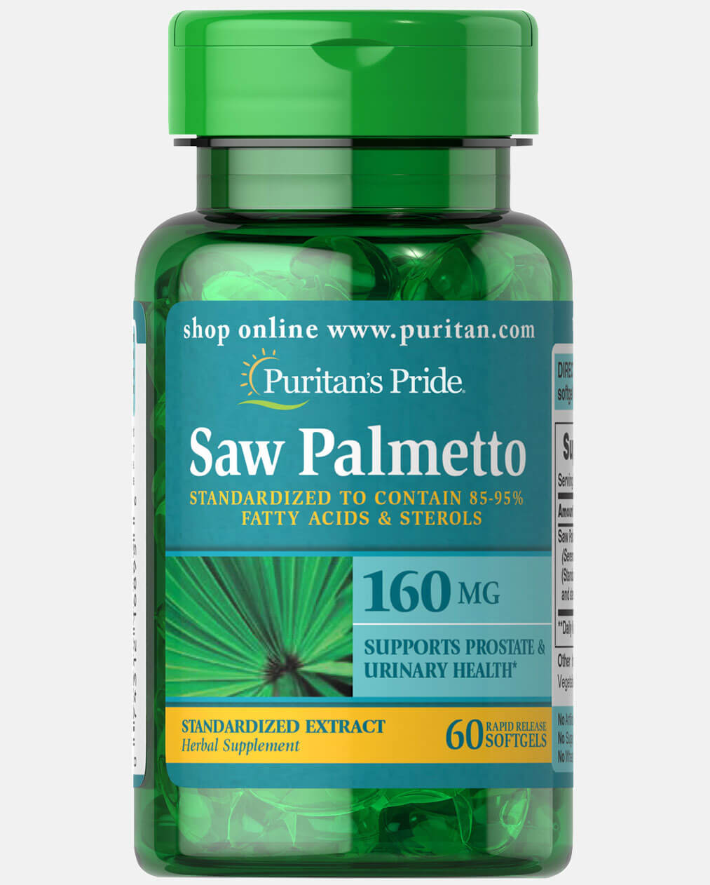 Saw Palmetto Standardized Extract 160 mg