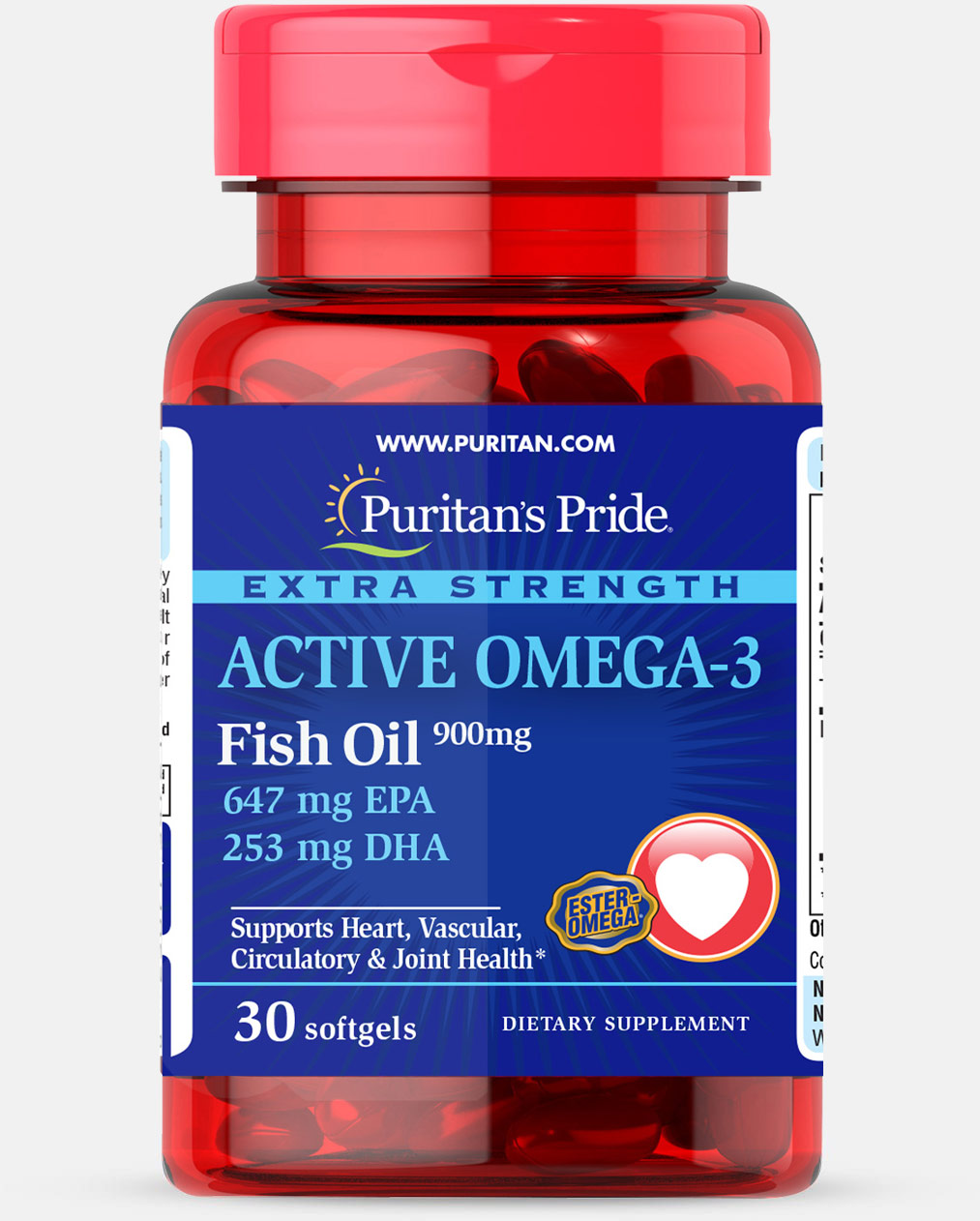Extra Strength Active Omega-3 Fish Oil