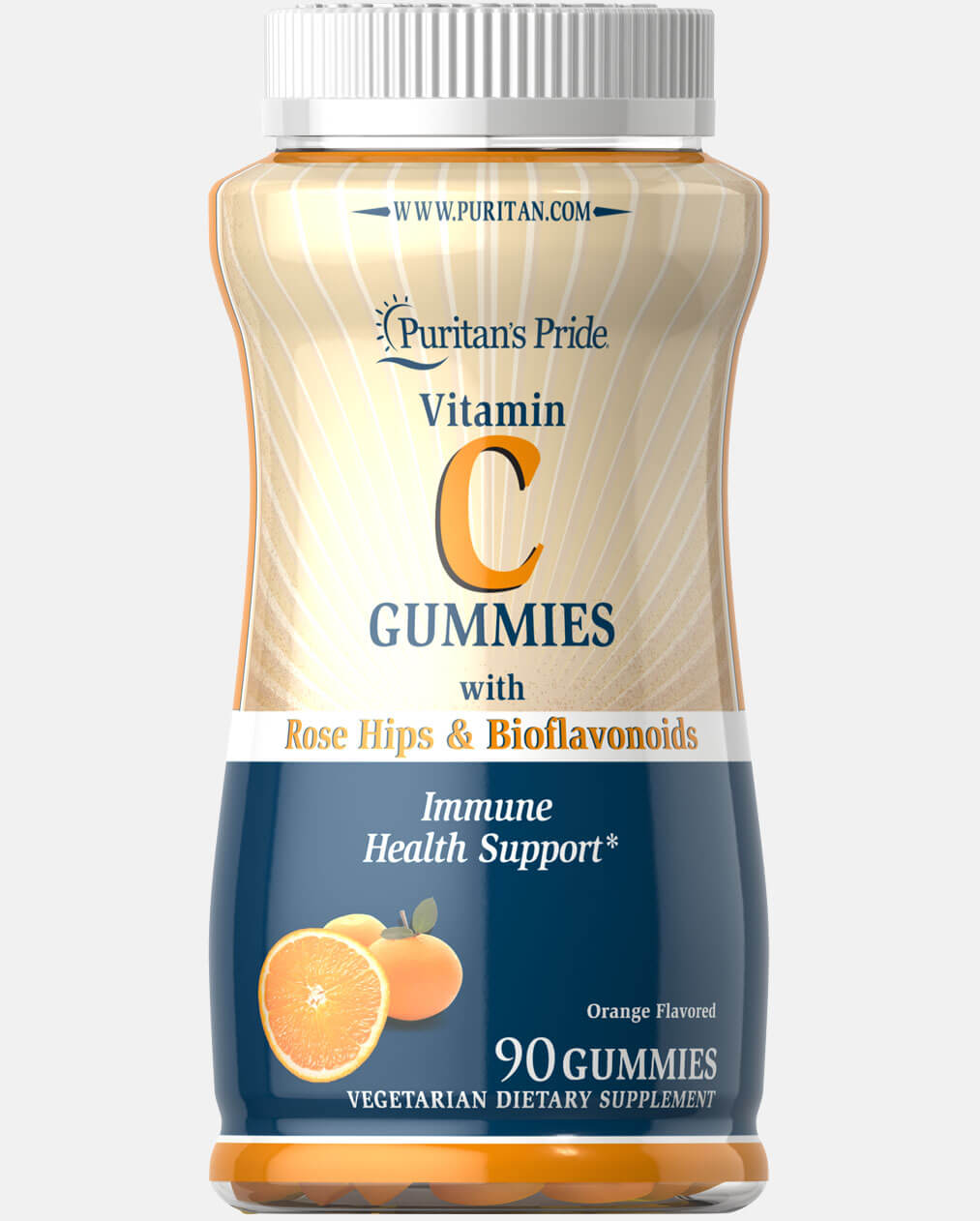 Vitamin C Gummies with Rose Hips & Bioflavonoids