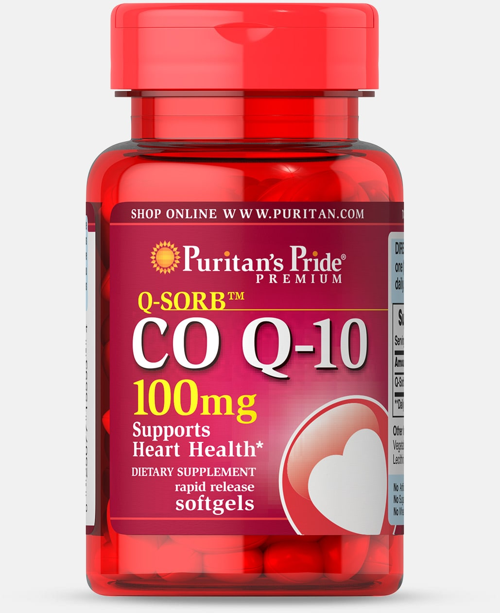 Q-SORB™ Co Q-10 100 mg  Trial Size