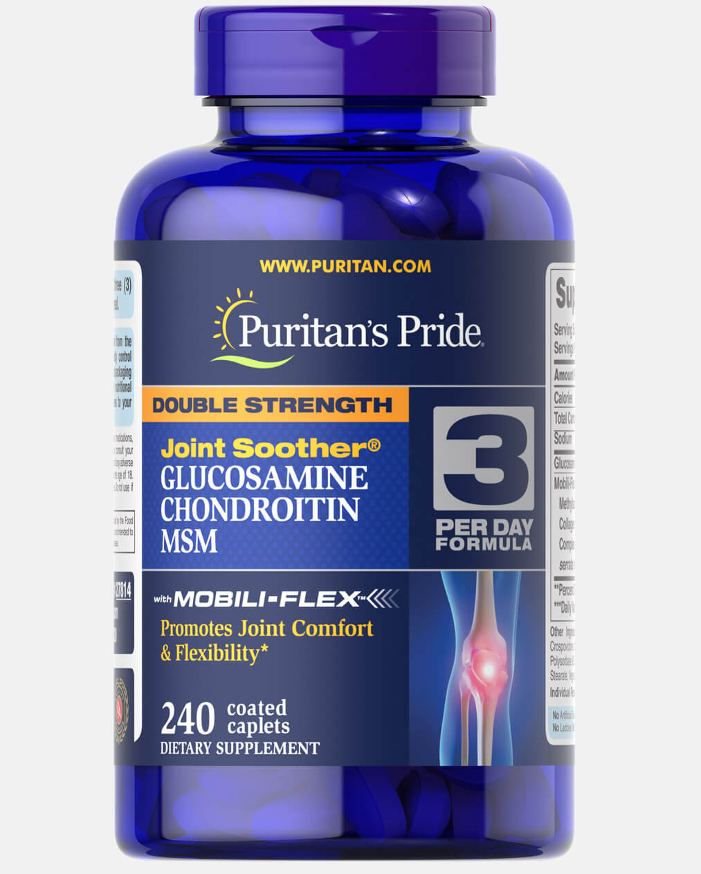 Double Strength Glucosamine, Chondroitin & MSM Joint Soother®