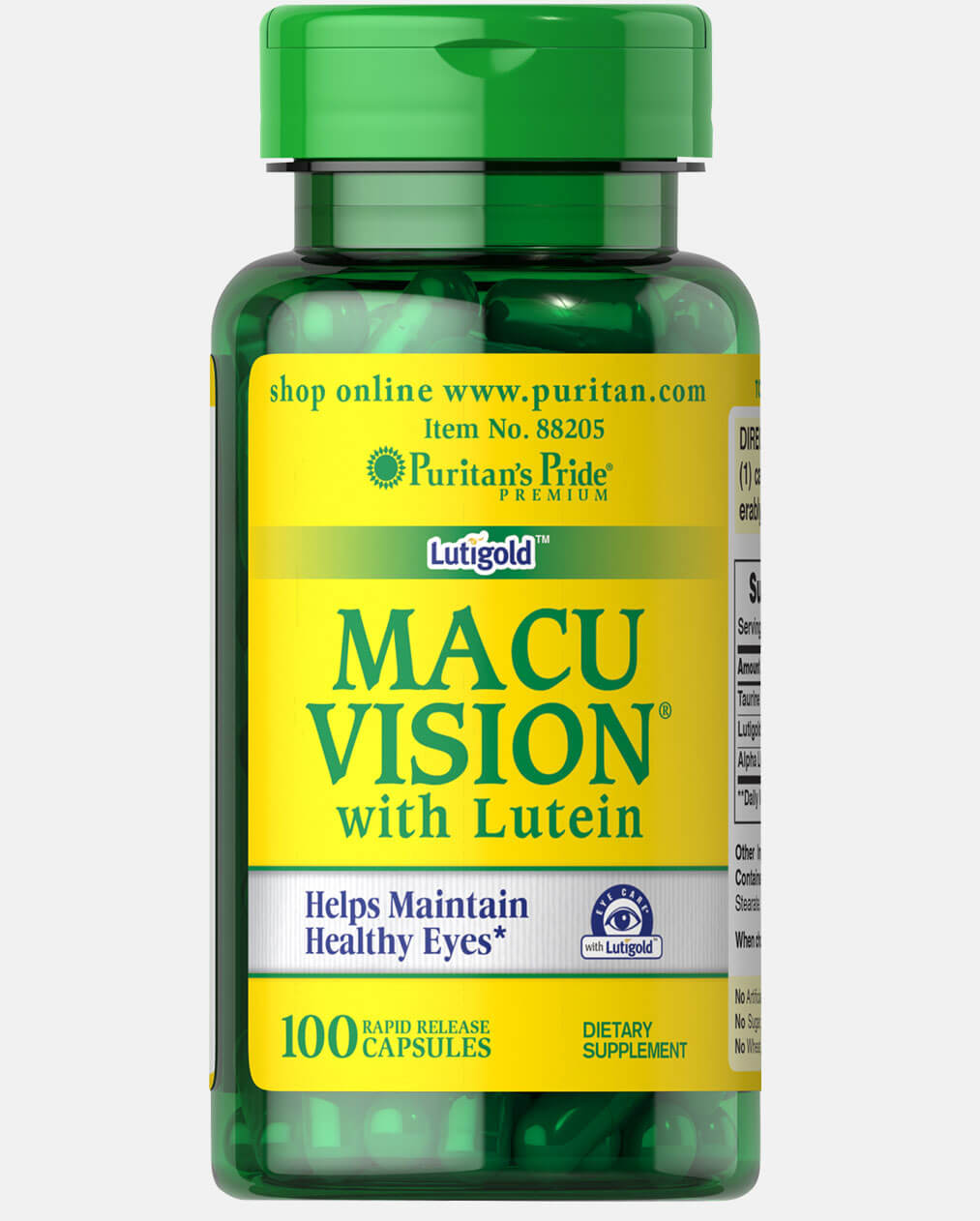 Macuvision® with Alpha Lipoic Acid and Lutein
